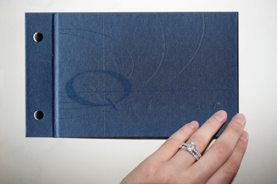 Receive a beautifully bound book with all details of your insurance policy